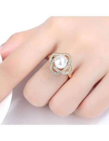 gold-plated-with-pearl-cubic-zirconias-silver-healing-ring-gemstone-jewelry-woman-hand-white-background-hihoney-hr082
