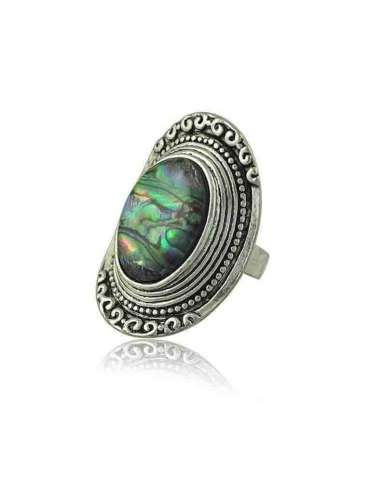 abalone-shell-ring-vintage-healing-ring-gemstone-jewelry-white-background-hihoney-hr083