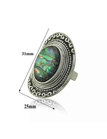 abalone-shell-ring-vintage-healing-ring-gemstone-jewelry-white-background-detailshihoney-hr083-hihoney-hr083