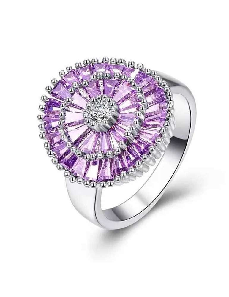 pink-rose-purple-zirconia-ring-silver-healing-ring-gemstone-jewelry-white-background-02-hihoney-hr087
