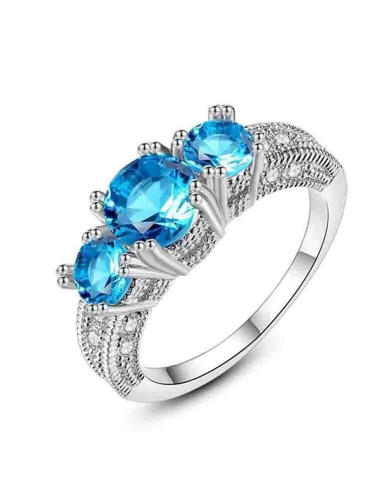 blue-aquamarine-ring-zirconia-silver-healing-ring-gemstone-jewelry-white-background-hihoney-hr089