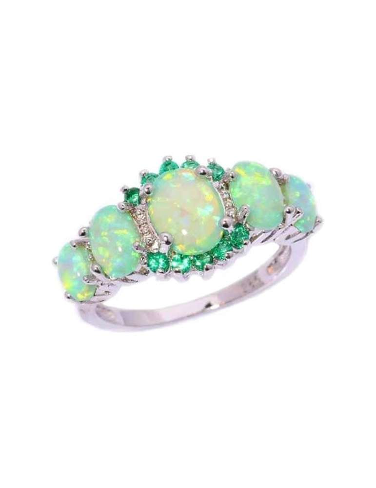 white-green-opal-emerald-ring-gemstone-jewelry-white-background2-hihoney-hr013