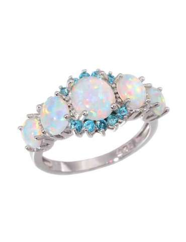 white-opal-blue-aquamarine-ring-gemstone-jewelry-white-background-hihoney-hr014