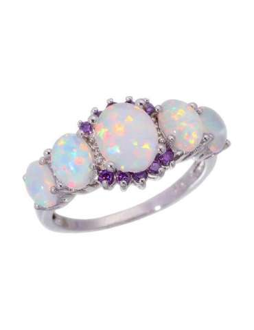 white-opal-purple-amethyst-ring-gemstone-jewelry-white-background-hihoney-hr016