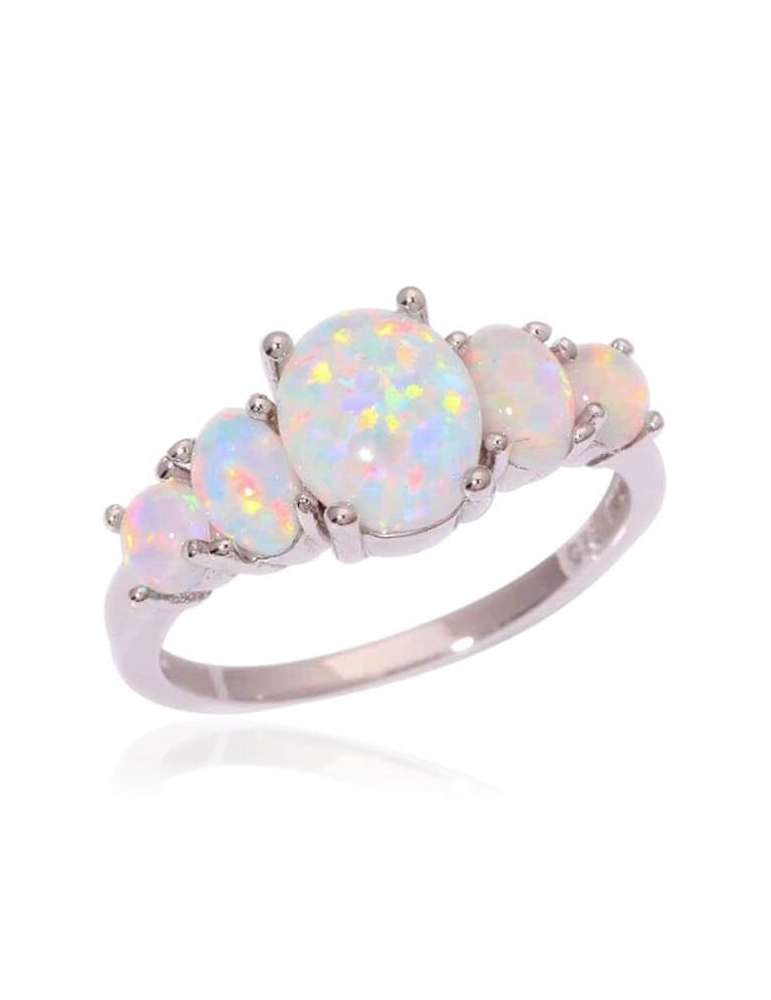 white-opal-silver-healing-ring-gemstone-jewelry-white-background-hihoney-hr020