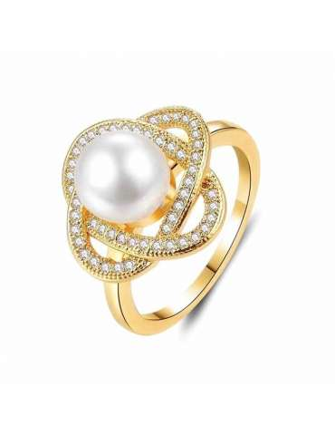 gold-plated-with-pearl-cubic-zirconias-silver-healing-ring-gemstone-jewelry-white-background-hihoney-hr082
