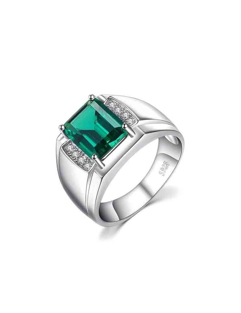 big-deep-green-silver-ring-healing-gemstone-jewelry-white-background-hihoney-hr096