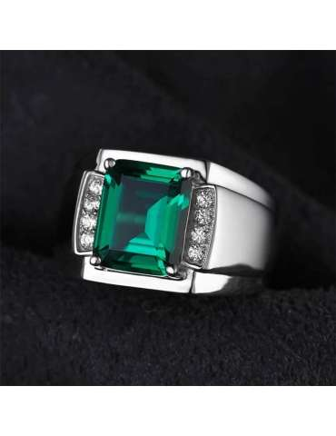 big-deep-green-silver-ring-healing-gemstone-jewelry-black-background-hihoney-hr096